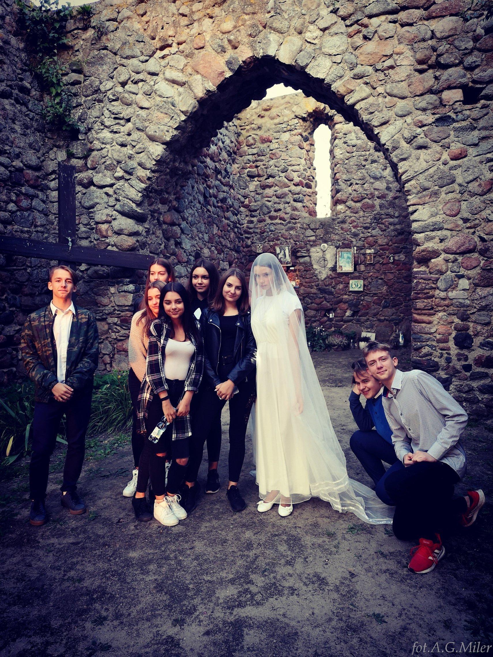 IV Plenerowe spotkanie w ruinach kościoła św. Marcina w Gryżynie