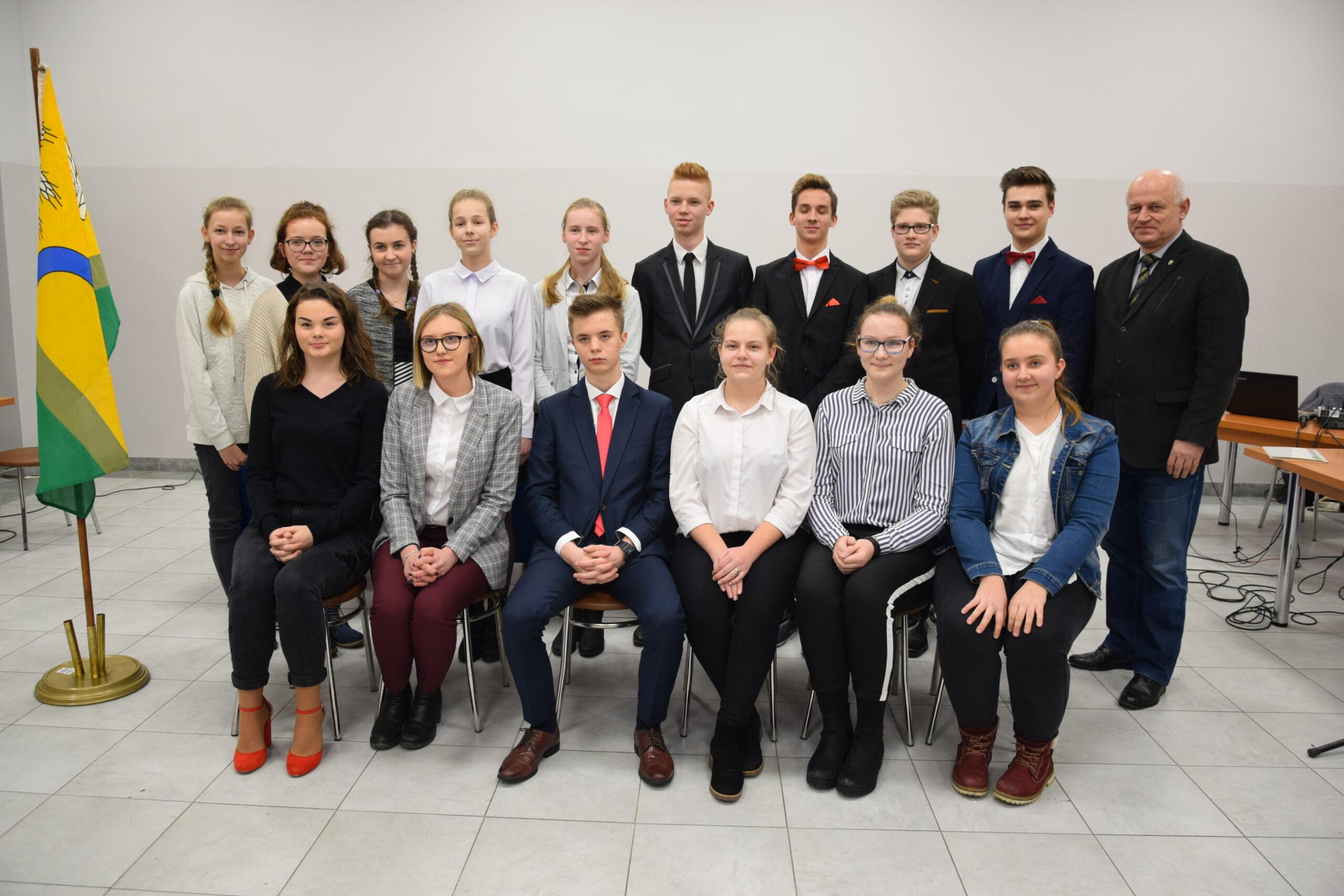 Młodzieżowa Rada Gminy Kościan – uroczysta sesja
