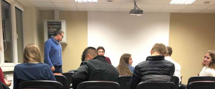 Posiedzenie Młodzieżowej Rady Miasta Leszna